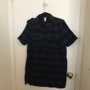 EUC Cute flannel dress sz L by Forever 21